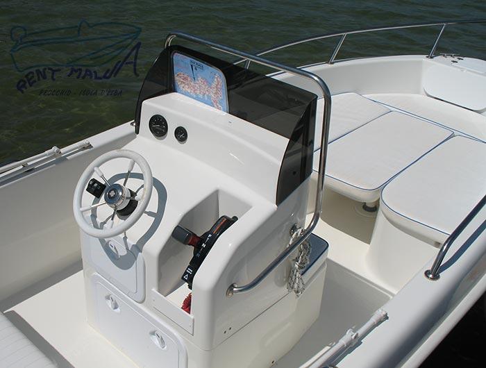 Elba noleggio barca Arkos 507