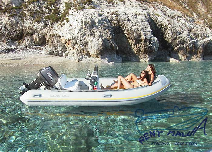 Elba noleggio gommone BWA 510