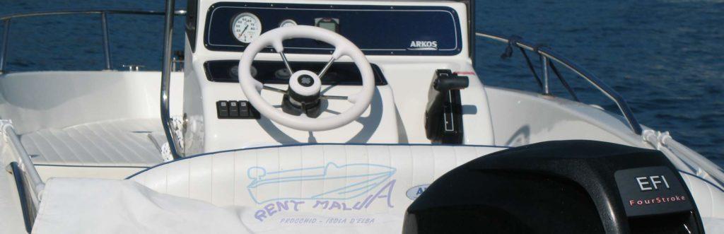 Elba Rental boat Arkos 537
