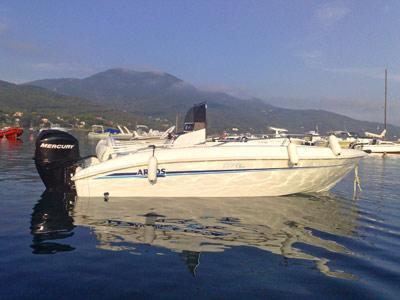 Elba noleggio barca arkos 537 da tribordo