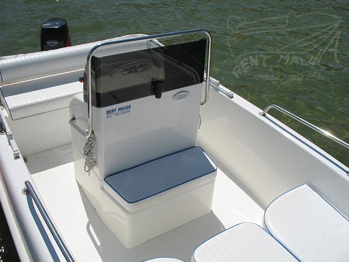Elba noleggio barche Arkos 507 console con seduta anteriore
