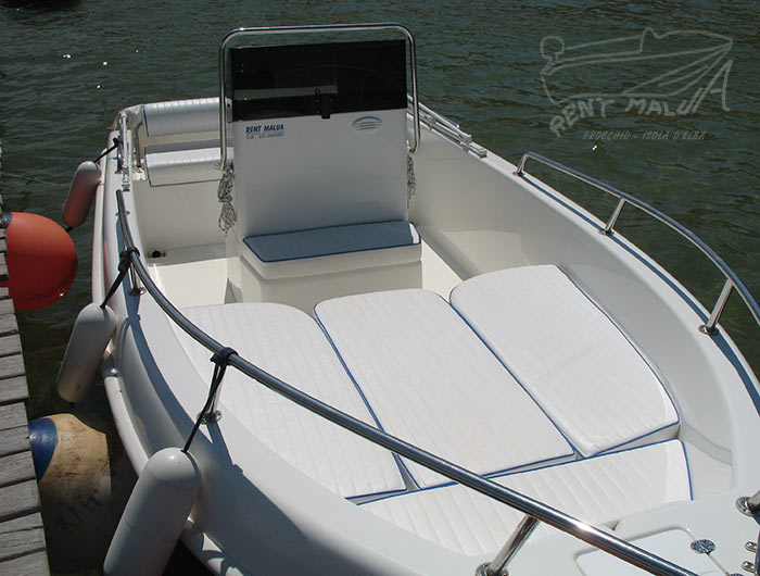 Elba noleggio barche Arkos 507 con cuscineria prendisole