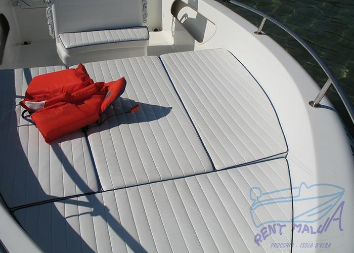 Elba noleggio barca arkos 537 ampio prendisole