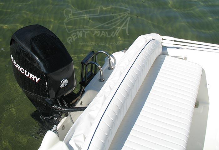 Elba noleggio barca arkos 537 motore Mercury 40 hp