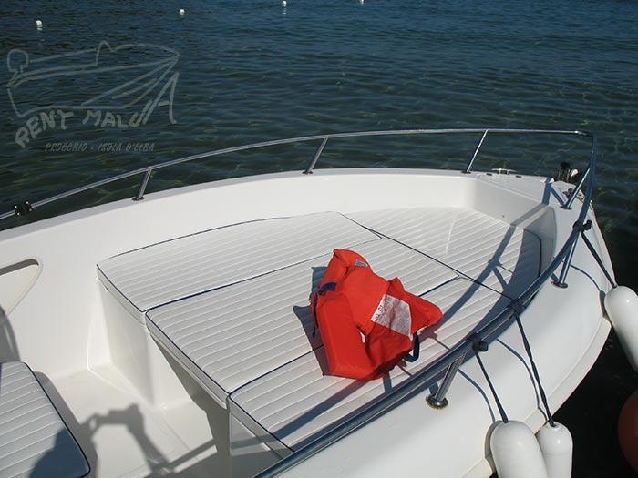 Elba noleggio barca arkos 537 prendisole con cuscini