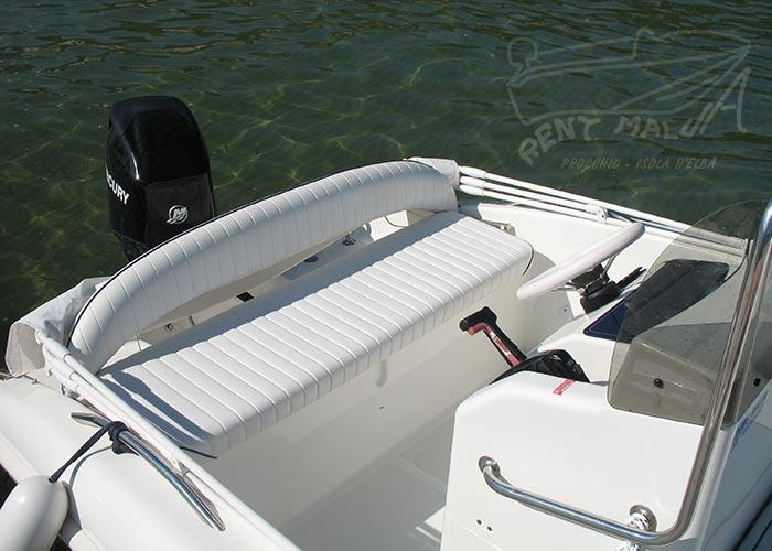 Elba noleggio barca arkos 537 cuscineria di poppa