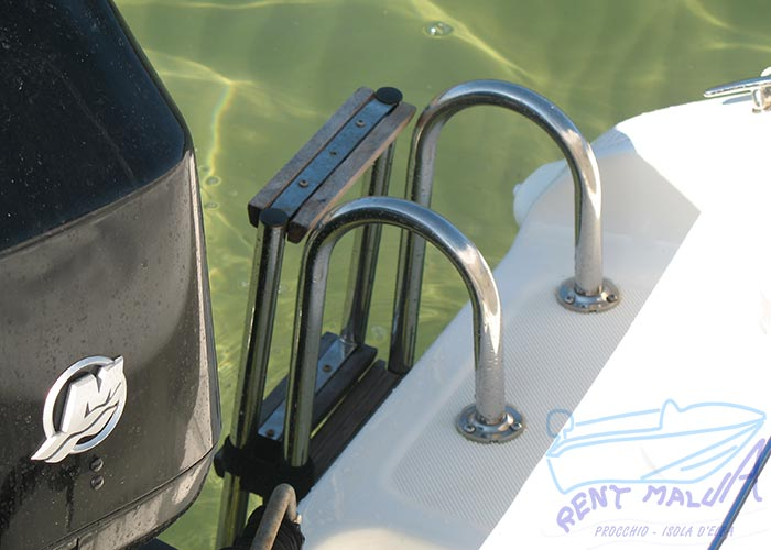 Elba noleggio barca arkos 537 scaletta