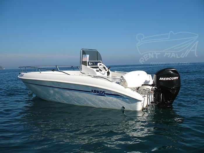 Elba noleggio barca arkos 537 alla boa Guardiola
