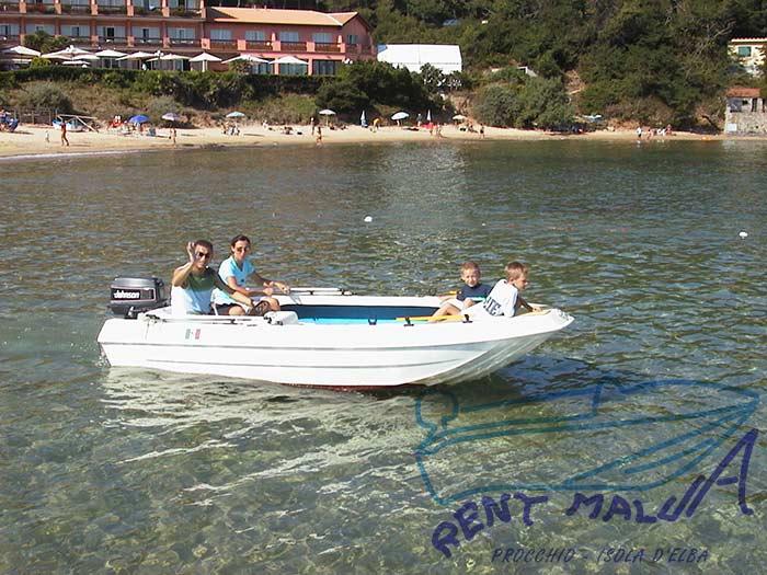 Elba noleggio barca Molinari a Procchio