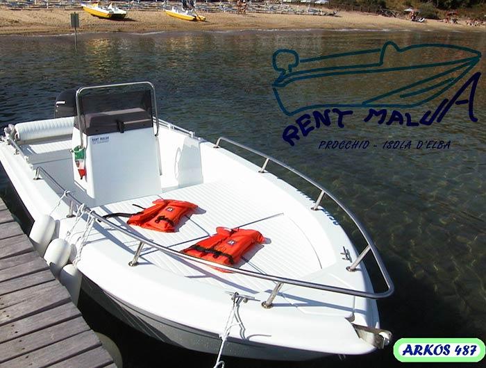 Elba noleggio barche Arkos 487 cuscineria