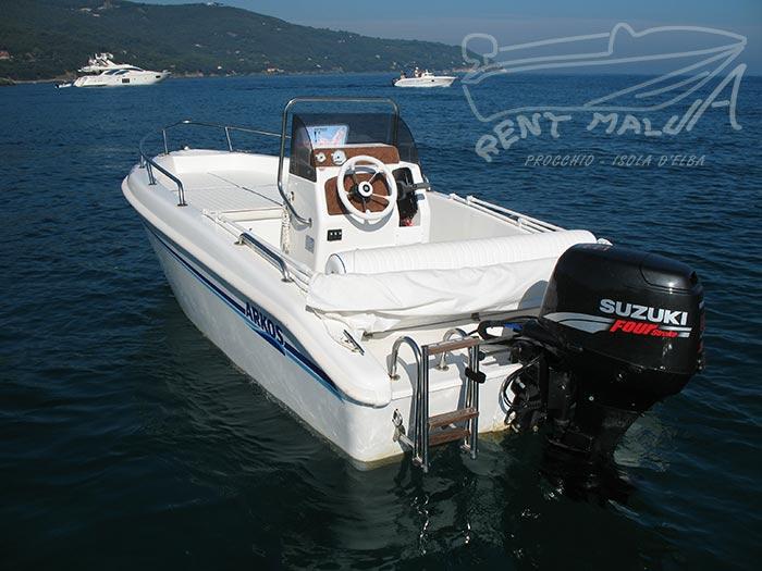 Elba noleggio barche Arkos 487 all'ancora