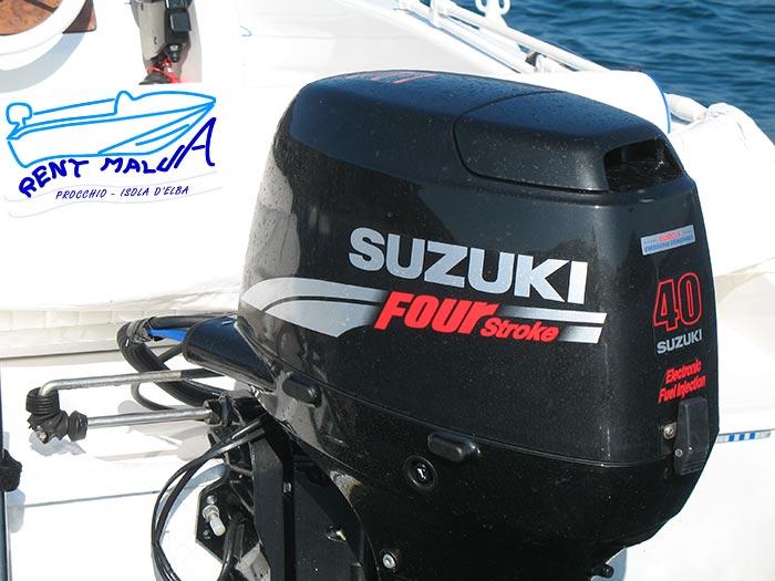 Elba noleggio barche Arkos 487 suzuki 40 hp Four Stroke