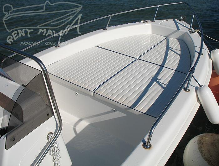 Elba noleggio barche Arkos 487 cuscineria prendisole di prua
