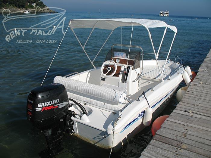 Elba noleggio barche Arkos 487 con prendisole e tendalino