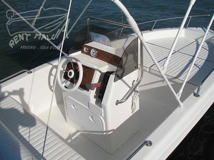 Elba noleggio barche Arkos 487 console di guida
