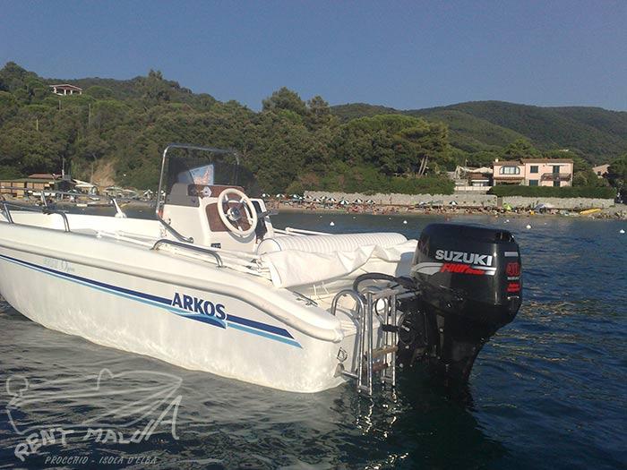 Elba noleggio barche Arkos 487 con chiglia a V