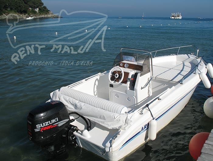 Procchio Elba noleggio barche Arkos 487